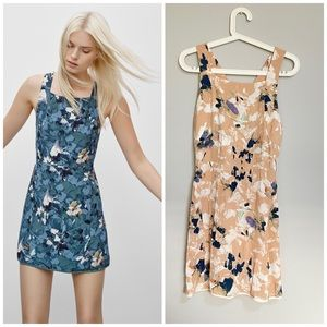 Aritzia wilfred vourette floral dress
